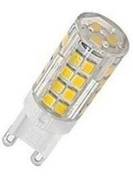 30 Lampada Led Halopim G9 5w Bq Bivolt + 30 Soquetes G9