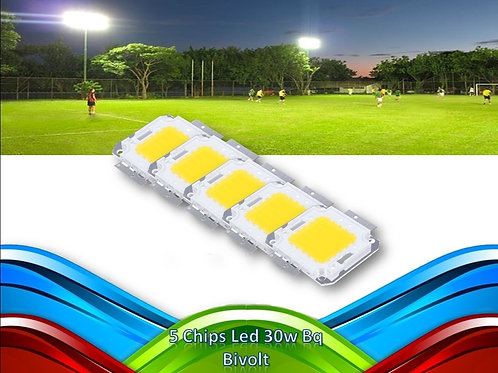 5 Chips Led 30w Bq Bivolt