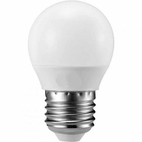 57 Lampadas Led Bolinha Mini Bulbo E27 3w Bq Bivolt
