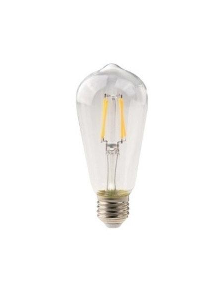 Lampada Led Filamento St58 E27 4w Bq Bivolt