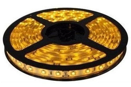 12 Fitas Led 5050 Ip65 300 Leds Amarela Ambar 12v