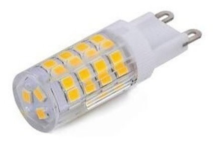 10 Lampadas Led Halopim G9 6w Bq + 10 Soquetes G9