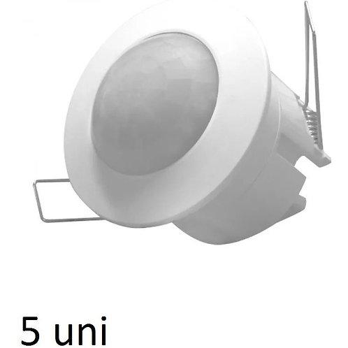 5 Sensores De Presenca De Embutir P17
