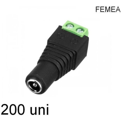 200 Borne Kre/p4 Femea 2,1mm Fl-03