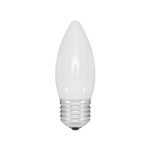 40 Lampadas Led Vela Leitosa E27 5w Bq Bivolt