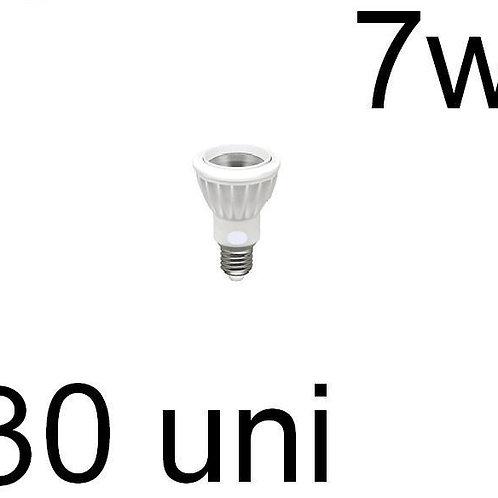30 Lampadas Par20 Cob E27 7w Bq Bivolt
