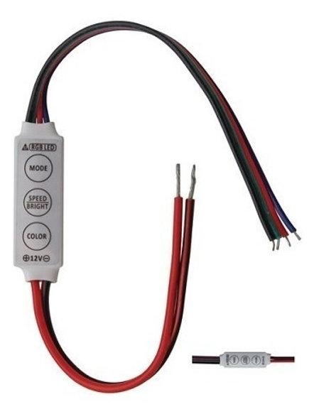 50 Dimmer Controlador P/fita Led Aumenta E Faz Piscar