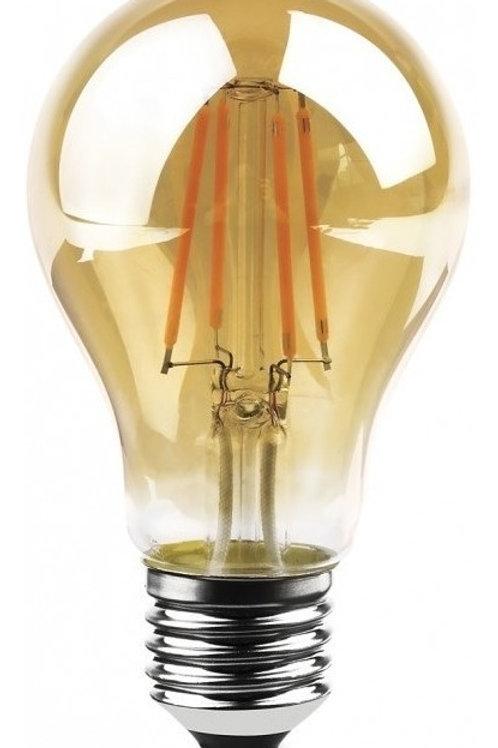 4 Lampadas Led Filamento A60 E27 Bq 4w 110v