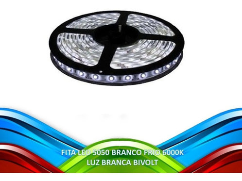 20 Fitas Led 5050 Ip20 300 Leds Bf 12v