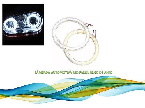 Lampada Automotiva Led Farol Olho De Anjo Branco Frio 100cm