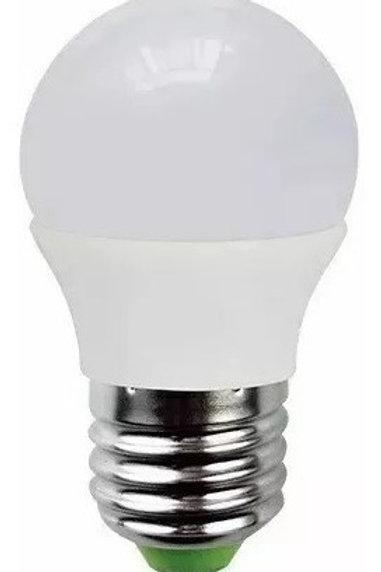 5 Lampadas Bolinha E27 5w Bq Bivolt+ 5 P4 Macho+5 P4 Femea