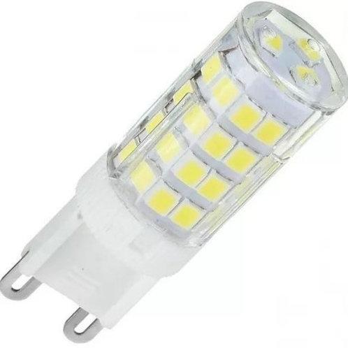 6 Lampadas Led Halopim G9 5w Biv Bf + 6 Soquete G9