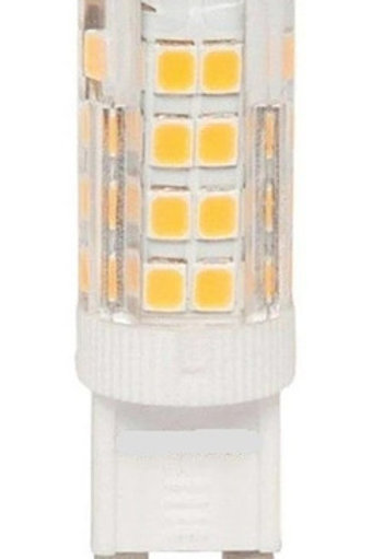 5 Lampadas Led Halopim G9 3w Bf Bivolt + 5 Soquetes G9