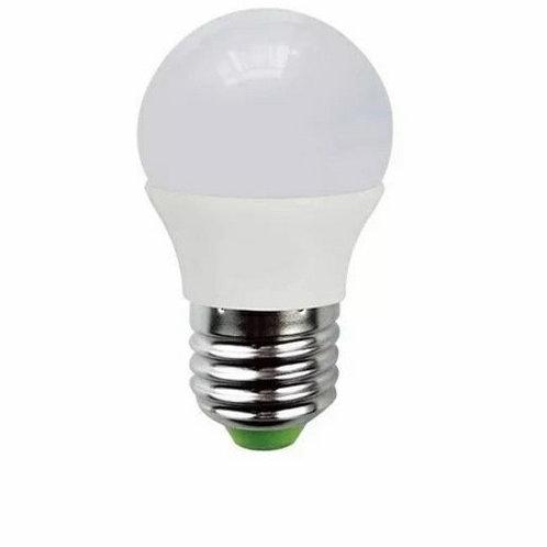 3 Lampadas Led Bolinha E27 5w Bq Bivolt