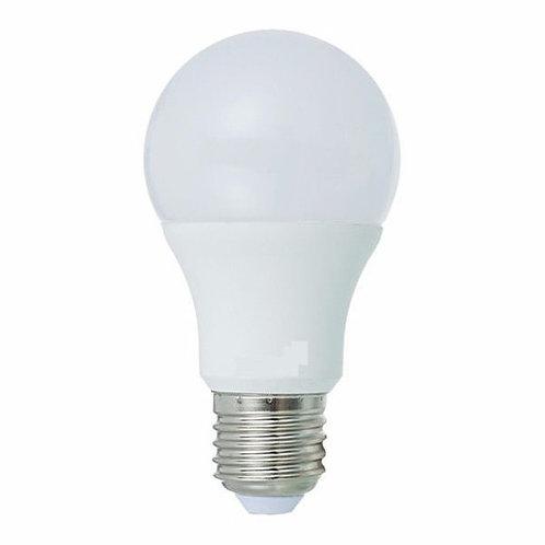 10 Lampadas Led Bulbo Plastico E27 9w Bf Bivolt