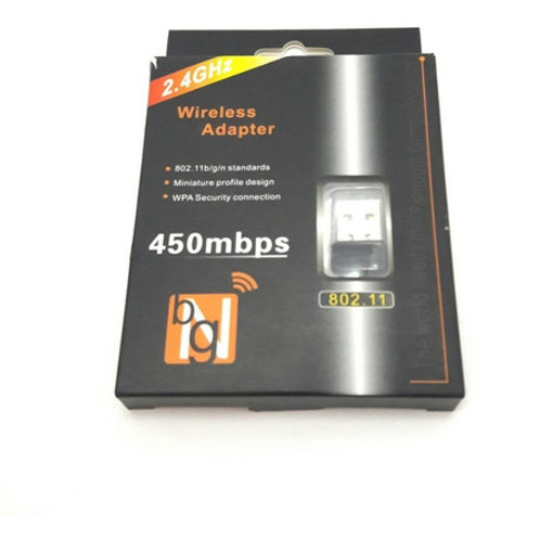 3 Adaptador Receptor Wireless Usb Wi-fi 450mbps