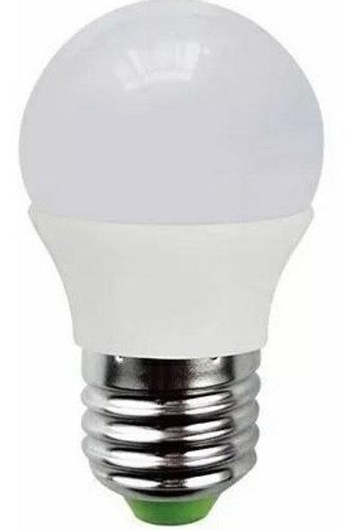 6 Lampadas Led Bolinha E27 5w Bf Bivolt