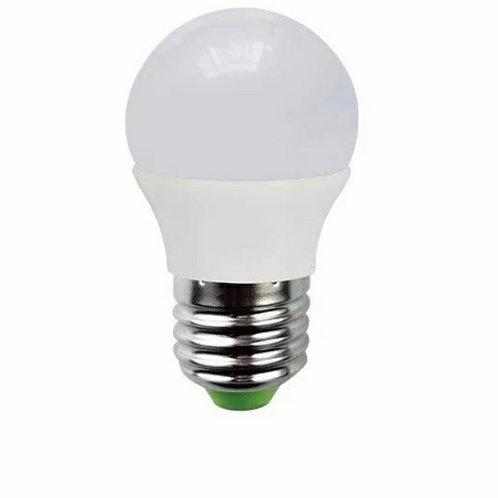 3 Lamp Led Bolinha 5w Bf + 3 Lampada Bolinha 5w E27 Bq Biv