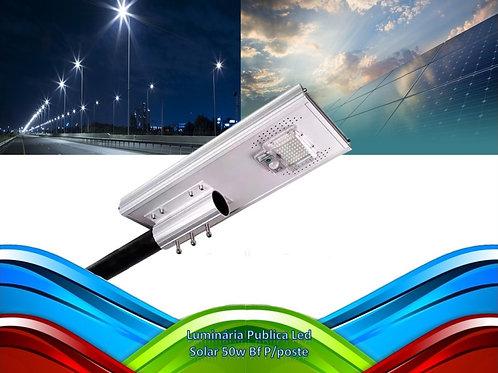 Luminaria Publica Led Solar 50w Bf P/poste