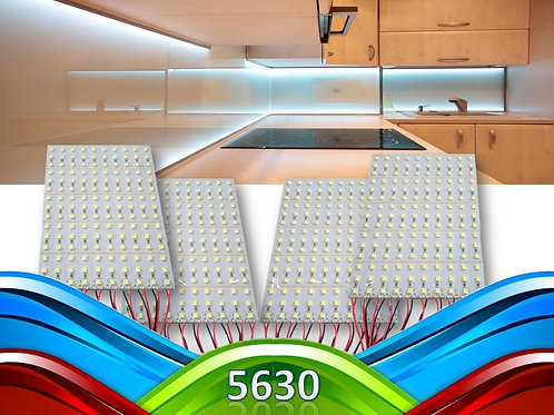 40 Barras 72 Leds 5630 Smd 1m Aluminio 18w Bf 12v