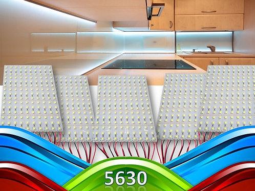 50 Barras 72 Leds 5630 Smd 1 Metro Aluminio 18w B. Frio 12v
