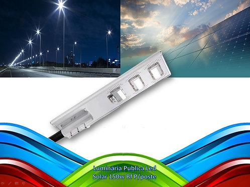 Luminaria Publica Led Solar 150w Bf P/poste