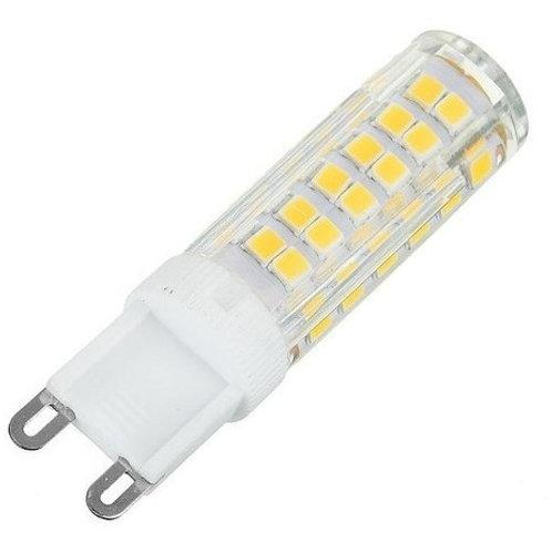 5 Lampadas Led Halopim G9 7w Bq 110v