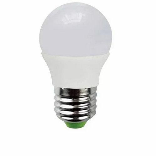 5 Lamp Led Bolinha E27 5w Bq + 5 Bolinha E27 5w Bf