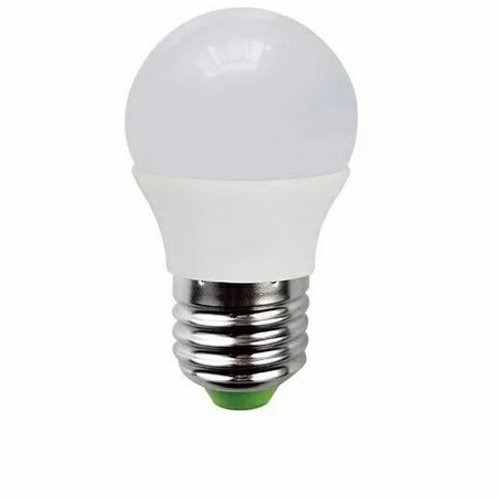 4 Lamp Led Bolinha 5w Bq + 4 Bolinha E27 5w Bf Bivolt
