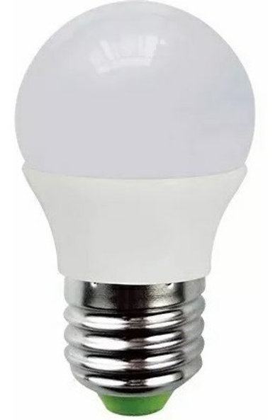 9 Lamp Led Bolinha 5w Bf + 9 Lamp Led Bolinha 5w Bq Bivolt