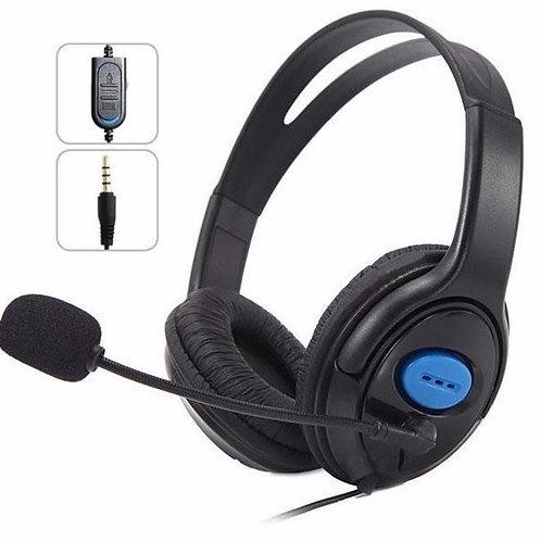 Fone De Ouvido Com Microfone Para Ps4/ X One