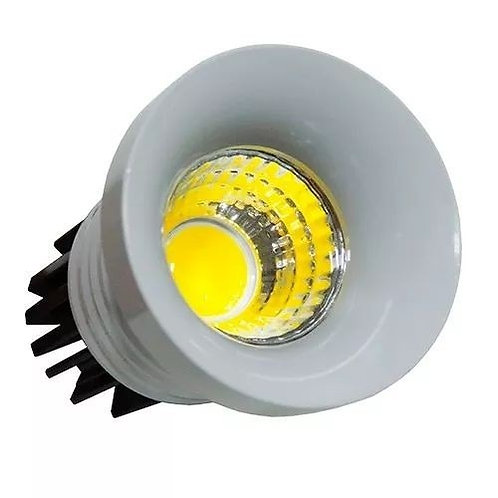 3 Mini Spot Led Cob Redondo 3w Bf