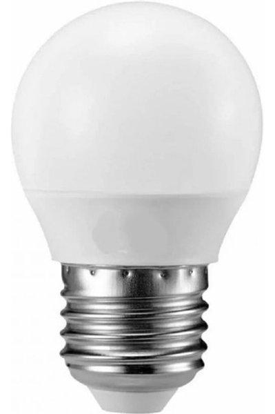 50 Lampadas Led Bolinha Mini Bulbo E27 3w Bq Bivolt