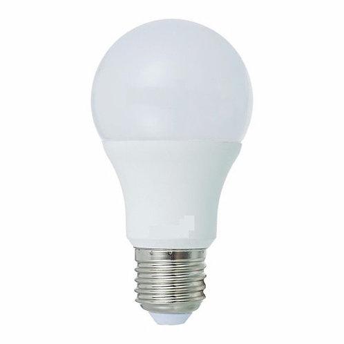 10 Lampadas Led Bulbo Plastico E27 9w Bq Bivolt
