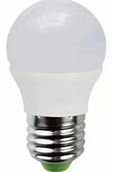 6 Lamp Led Bolinha 5w Bq + 6 Bolinha 5w E27 Bf Bv