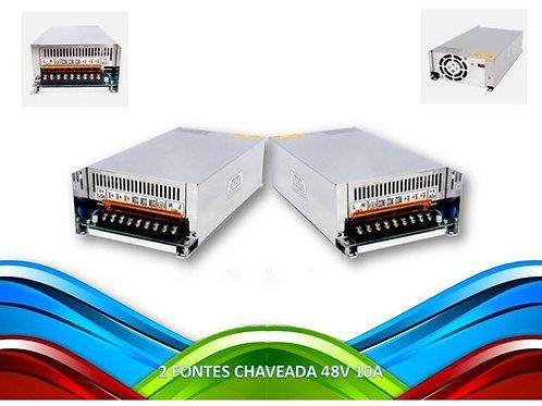 2 Fonte De Alimentacao Chaveada 500w 48v 10a