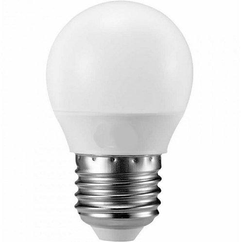 5 Lampadas Led Bolinha Mini Bulbo E27 3w Bq Bivolt