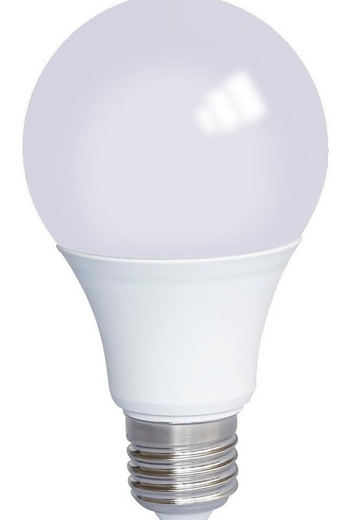 3 Lampadas Led Bulbo Plastico E27 12w Bq Bivolt