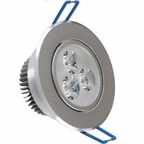 Spot Led De Embutir Aluminio Direcionavel 3w Bf Bivolt