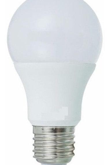 5 Lampadas Led Bulbo Plastico E27 9w Bq Bivolt