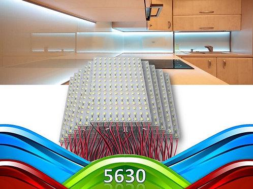 100 Barras 72 Leds 5630 Smd 1 Metro Aluminio 18w B Frio 12v
