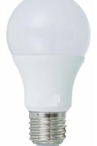 17 Lampadas Led Bulbo Plastico E27 9w Bf Bivolt