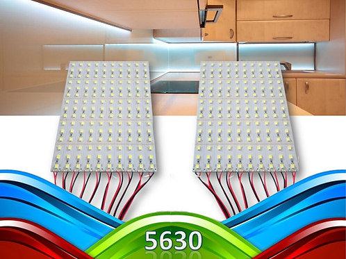 20 Barras 72 Leds 5630 Smd 1m Aluminio 18w Bf 12v