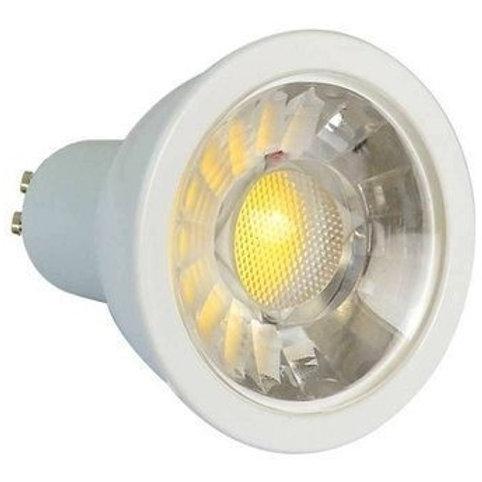 5 Lampadas Led Cob Dicroica Gu10 5w Bq Bivolt
