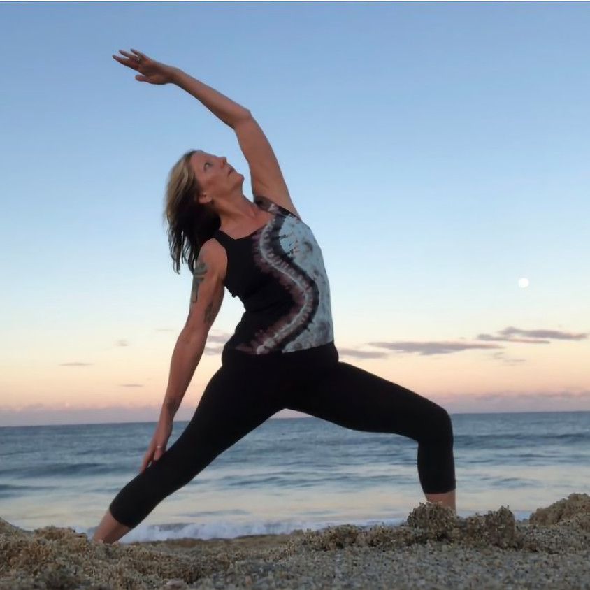 ZOOM - Tuesday Gentle Flow Yoga  4:00 - 5:15pm - July 21st - August 25th