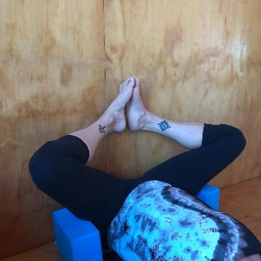 IN STUDIO Chakra Healing - Yin/Restorative Wall Class - September 18th - 3:30pm