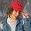 Thumbnail: Kulture Red Twill Cap