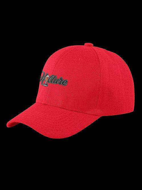 Kulture Red Twill Cap
