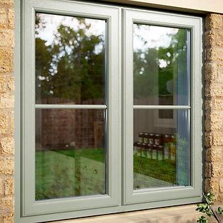 Chartwell Green PVC Window