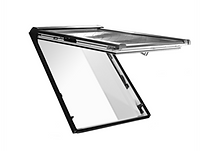 R8 Top Hung Window 540mm x 780mm Fitted Insulation PVC Roto Roof Windows
